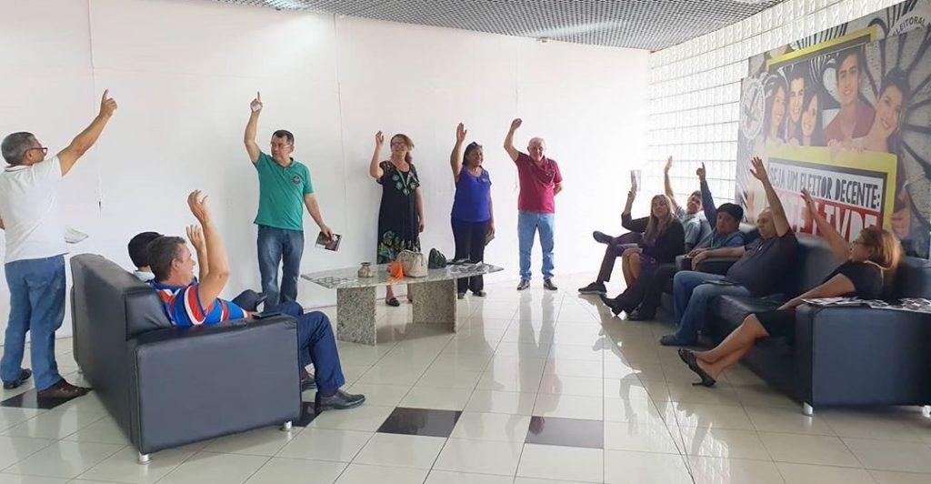 Servidores do TRE deliberam adesão à Greve Geral, no dia 18 de março